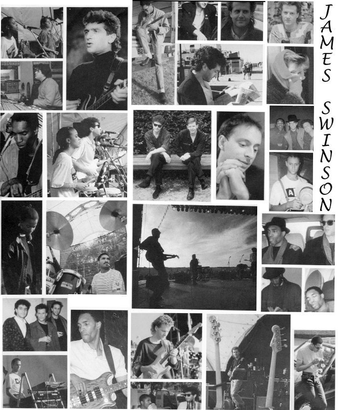 James Swinson - Latin Quarter Mick & Caroline inner sleeve
