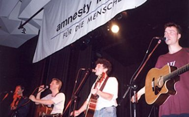Singing for Amnesty out of Conviction