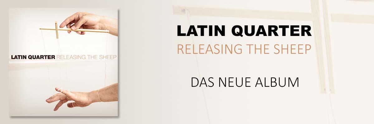 Latin Quarter Releasing The Sheep mit neuem Album und Tour im Herbst 2021