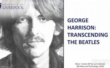 Mike Jones: George Harrison Transcending The Beatles