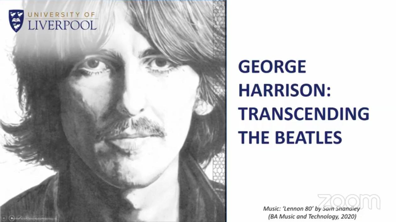 Latin Quarter's Mike Jones discusses George Harrison
