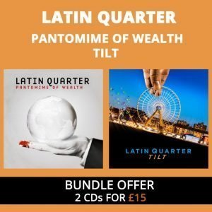 Pantomime of Wealth & Tilt – 2 CDs for £15