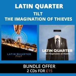 Tilt & The Imagination of Thieves – 2 CDs for £15